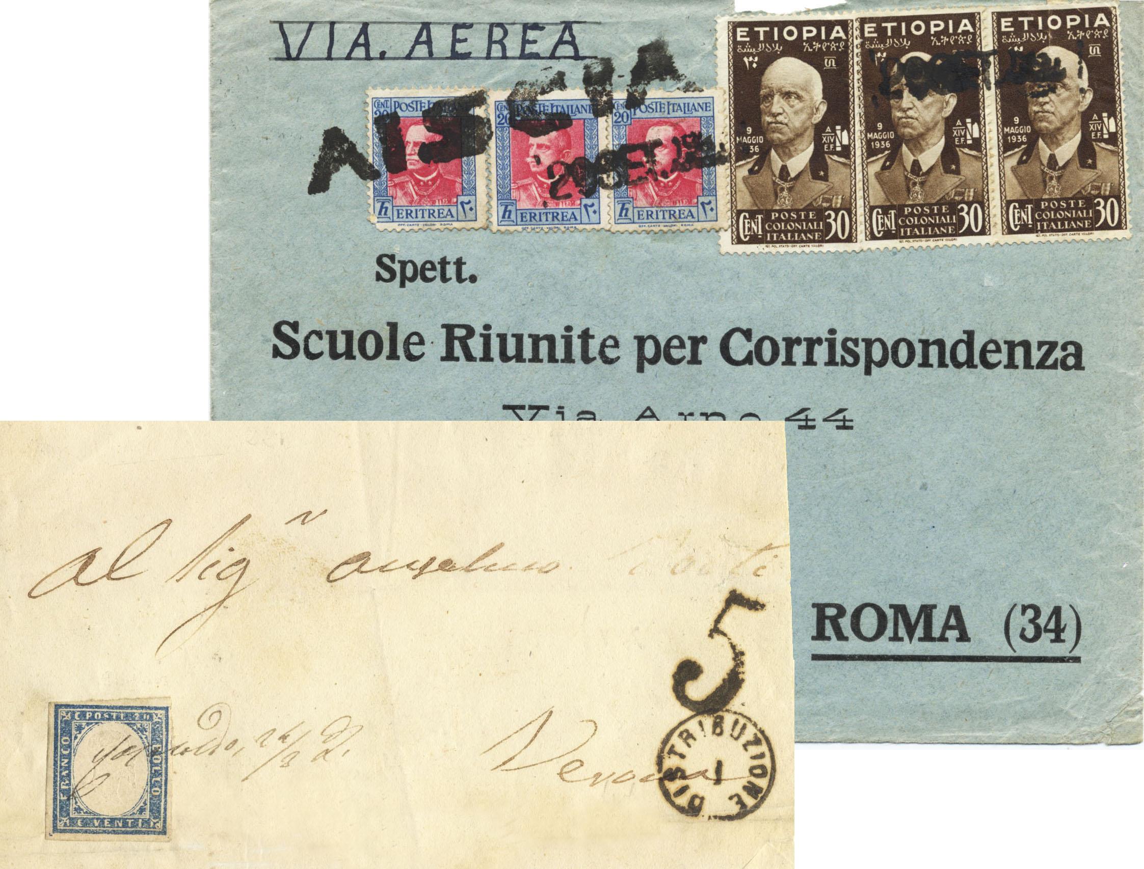 Un altro esempio dell importanza della posta negli ultimi due secoli l apertura dei nuovi uffici postali appena possibile E se i bolli ufficiali non erano